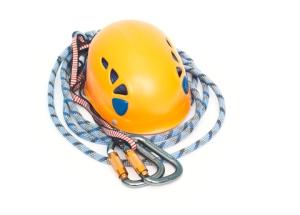 dreamstime capacete e corda de segurança