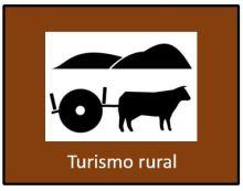 placa turismo rural